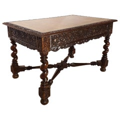 18th Century Indonesian Hand Carved Table