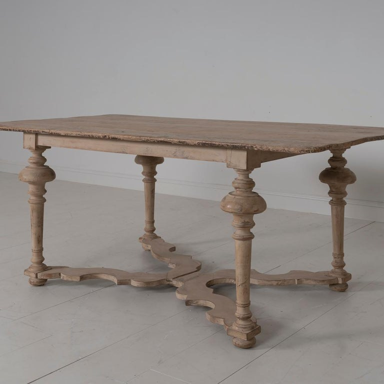 18th Century Italian Pine Painted Table In Good Condition For Sale In Wichita, KS