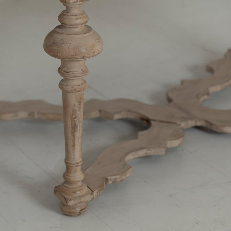 18th Century Italian Pine Painted Table For Sale 2