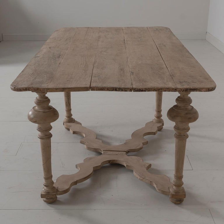 18th Century Italian Pine Painted Table For Sale 5