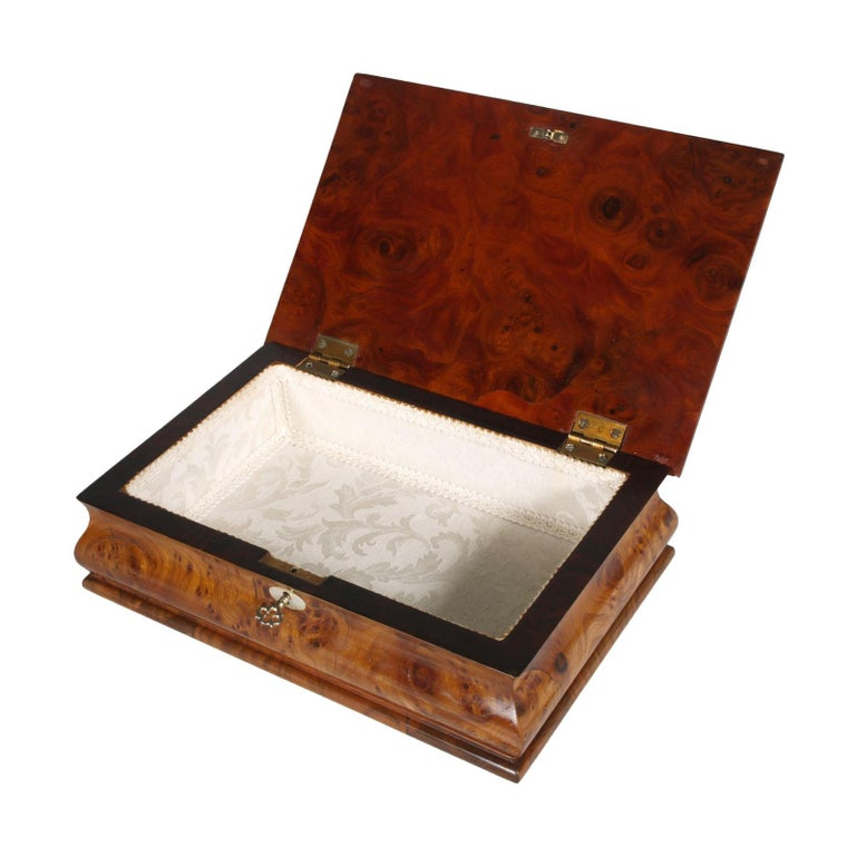 Antique original Jewelry box, 18th century,