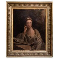 18th C, Portrait, Follower of Joshua Reynolds, Portrait of a Fine Lady