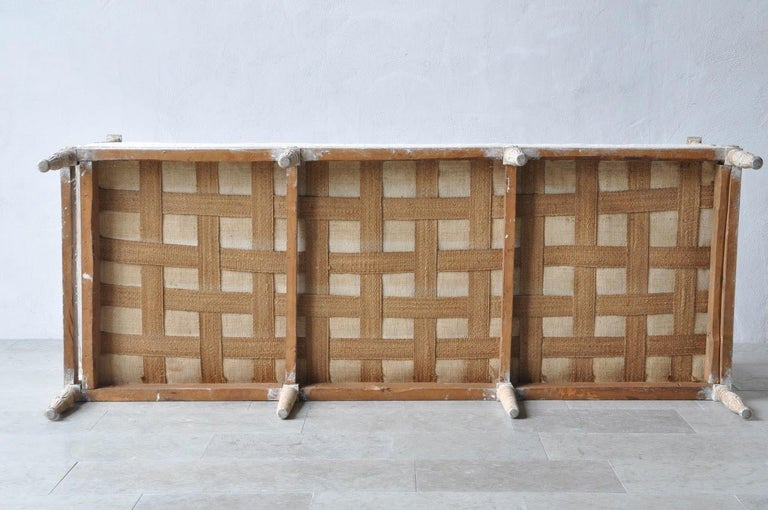 18th Century Swedish Gustavian Period Painted Daybed from Stockholm For Sale 5