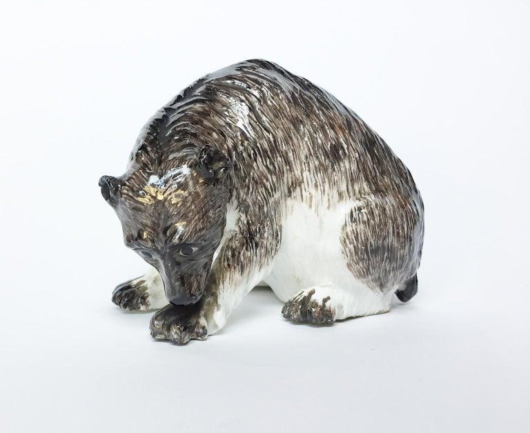 Meissen Porcelain Bear, circa 1740 For Sale 3