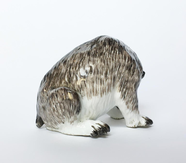 Meissen Porcelain Bear, circa 1740 In Good Condition For Sale In Milano, IT