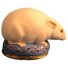 18th Century 1780 Mouse Bonbonniere