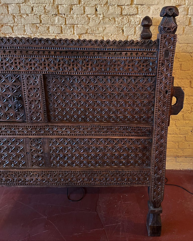 Tribal 18th Century Afghan Chest or Buffet For Sale