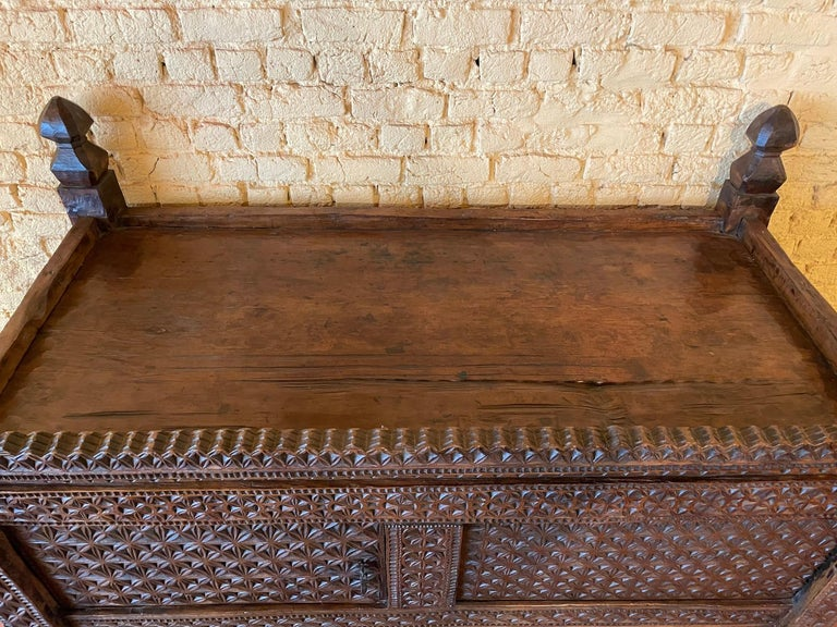 18th Century and Earlier 18th Century Afghan Chest or Buffet For Sale