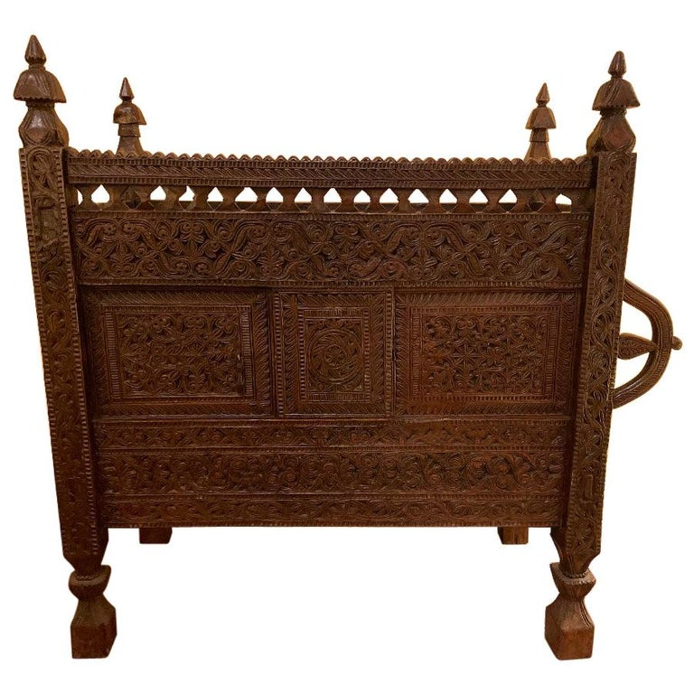 18th Century Afghan Wedding Chest For Sale