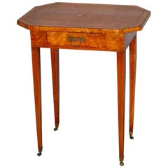 18th Century Amboyna Occasional Table