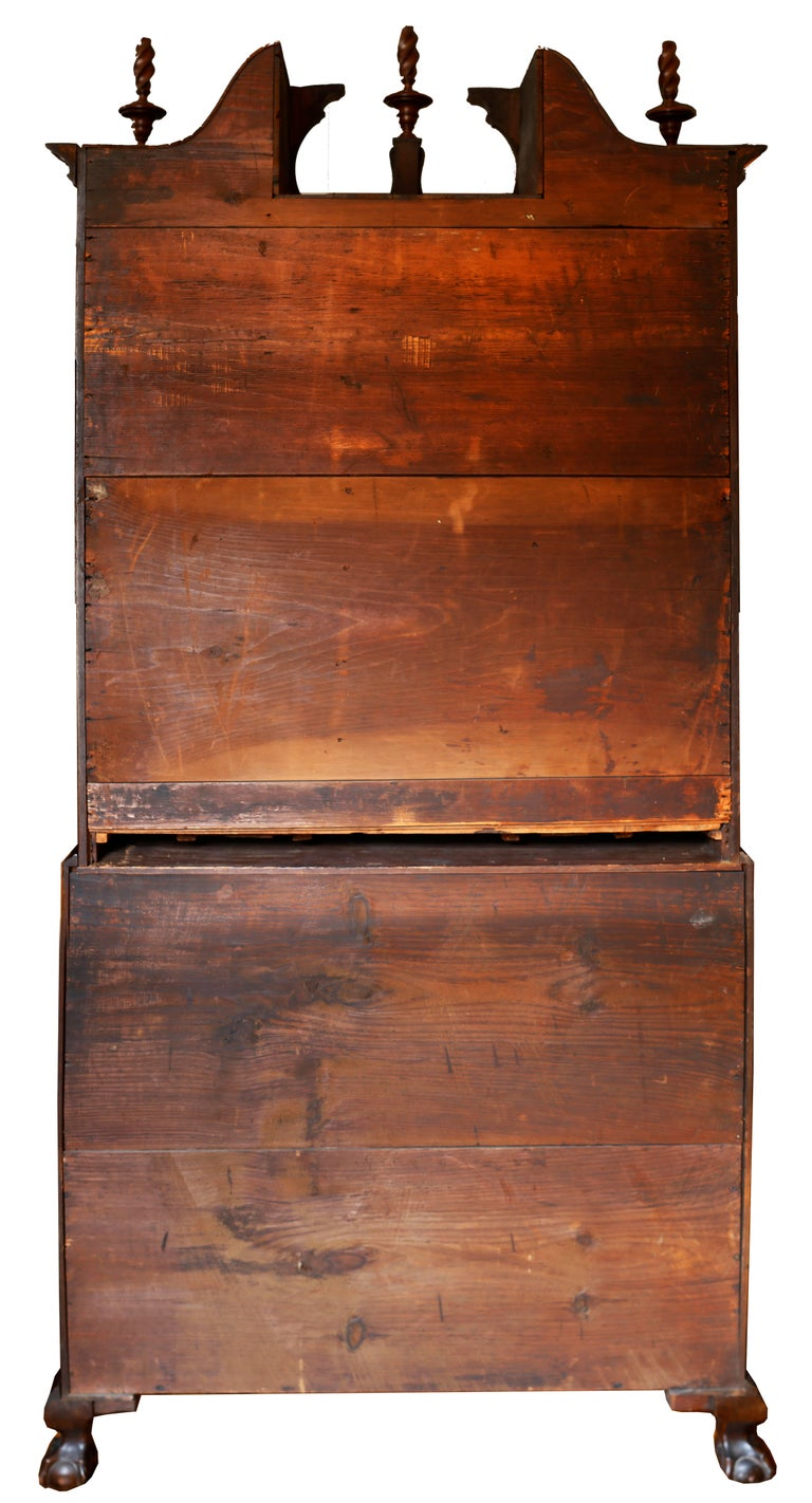 18th Century American Mahogany Chippendale Chest, circa 1770 For Sale 7