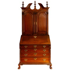 18th Century American Mahogany Chippendale Chest, circa 1770