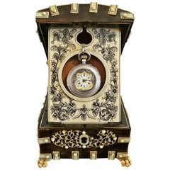 18th Century Anglo-Indian Vizigapatam Pocket Watch Display Box