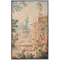 18th Century Antique French Beauvais Tapestry 4 ft 4 in x 6 ft 9 in