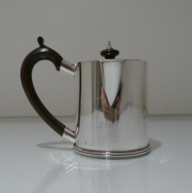 18th Century Antique George III Sterling Silver Argyle Londo 1778 William Grundy For Sale 2