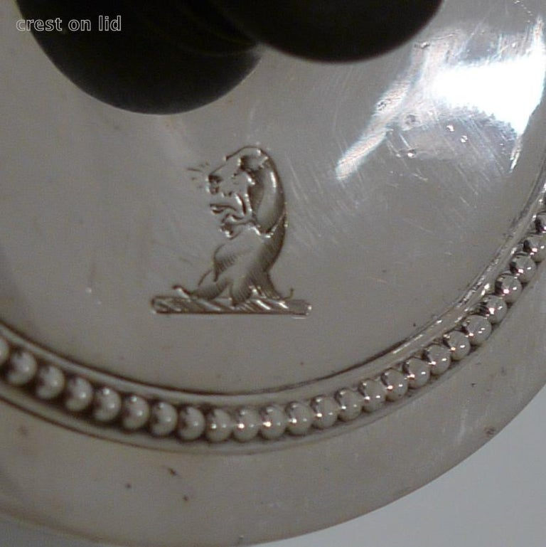 18th Century Antique George III Sterling Silver Argyle Londo 1778 William Grundy For Sale 3