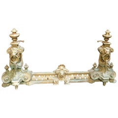 18th Century Antique Golden Bronze Ashtray