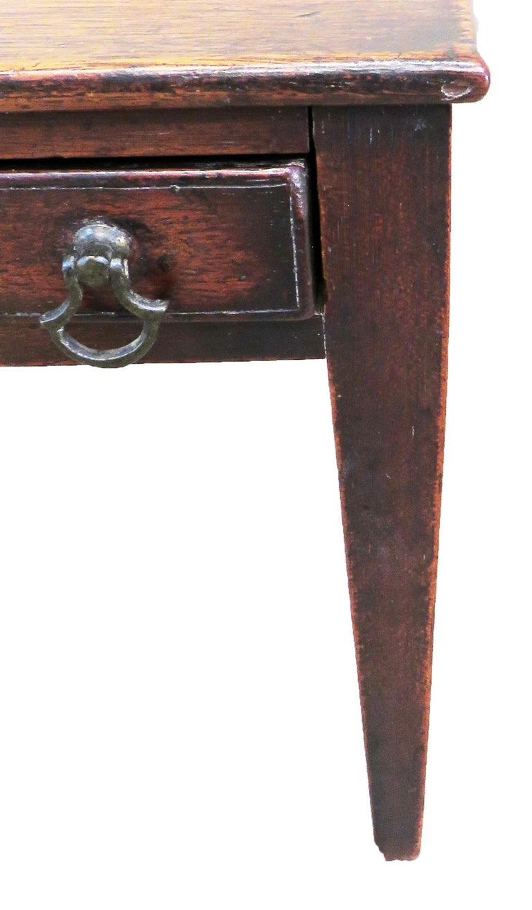 Georgian 18th Century Antique Mahogany Miniature Side Table For Sale