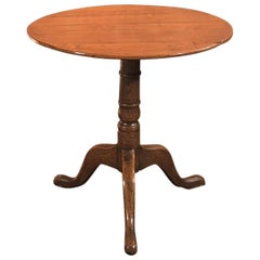 18th Century Antique Side Table, Georgian, Oak