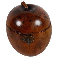 18th Century Apple Tea Caddy