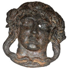 18th Century Architectural Fragment of a Lady's Face