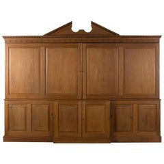 18th Century Architectural Mahogany Estate Cupboard