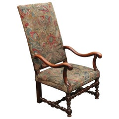 18th Century Armchair with Tapestry