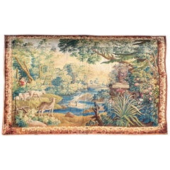 898 -  18th Century Aubusson French Antique Tapestry