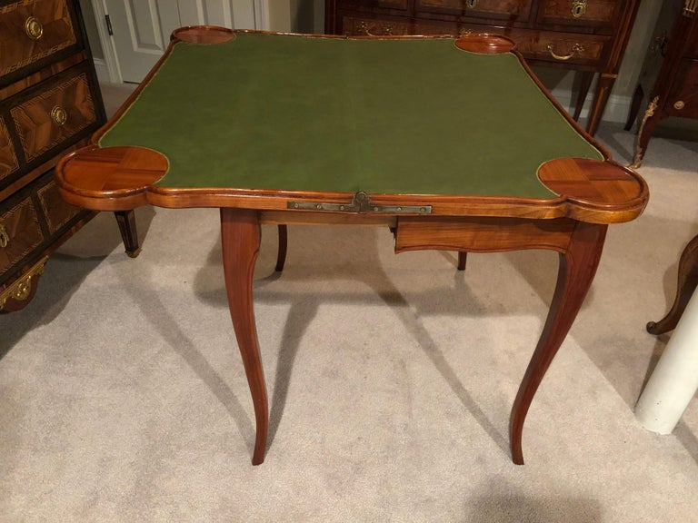 18th Century Baroque Card Table, Germany, 1760 For Sale 5