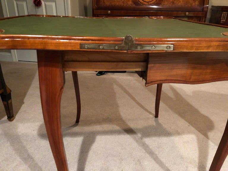 18th Century Baroque Card Table, Germany, 1760 For Sale 3