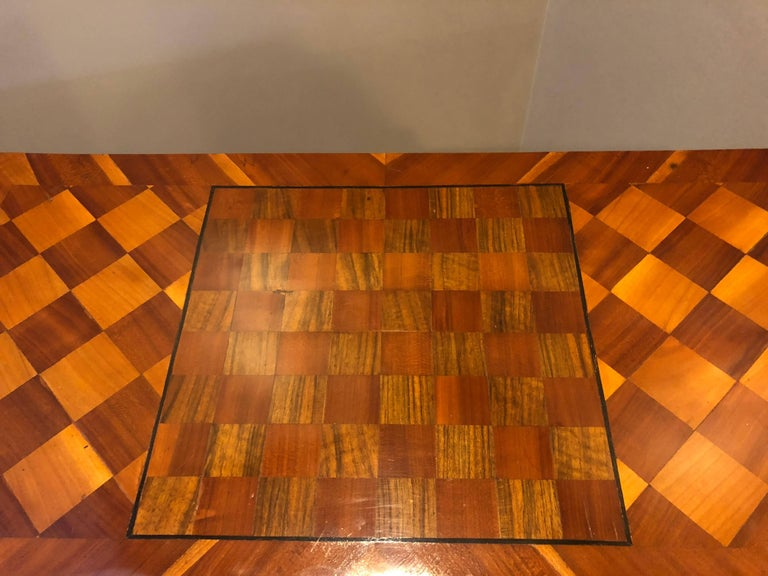 18th Century Baroque Card Table, Germany, 1760 In Good Condition For Sale In Belmont, MA