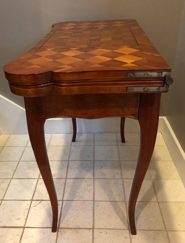 Mid-18th Century 18th Century Baroque Card Table, Germany, 1760 For Sale
