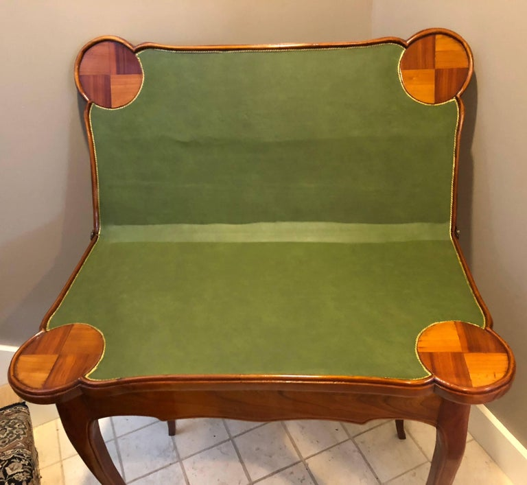 18th Century Baroque Card Table, Germany, 1760 For Sale 1