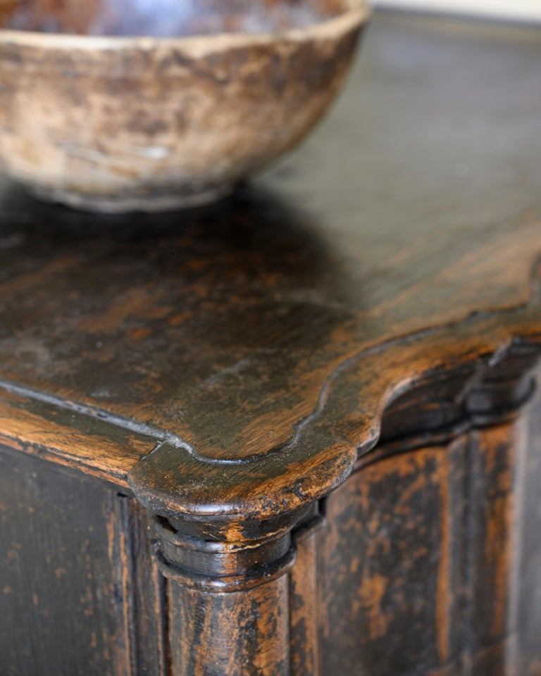 Danish 18th Century Baroque Commode For Sale