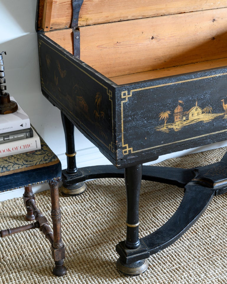Swedish 18th Century Baroque Console Table For Sale