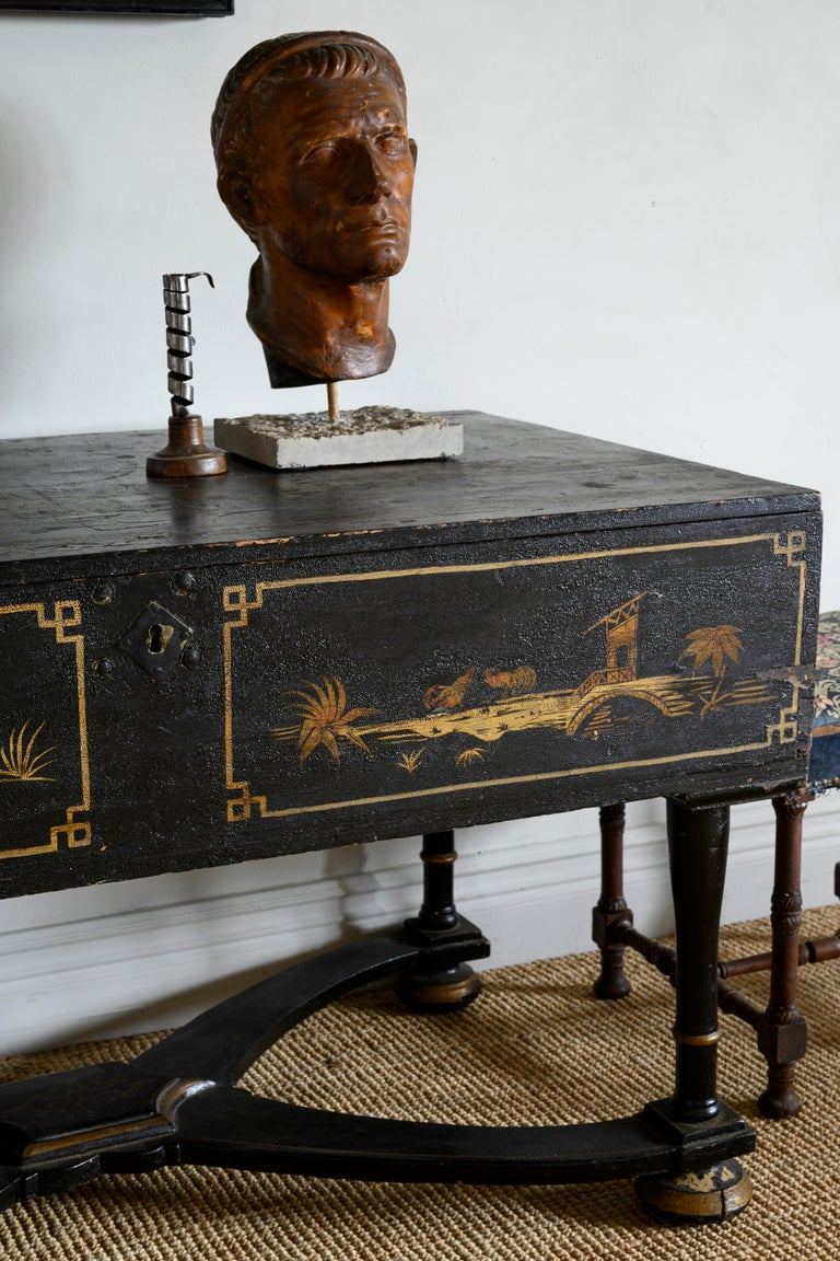 18th Century Baroque Console Table For Sale 1