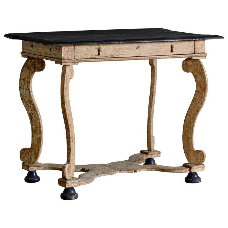 18th Century Baroque Console Table For Sale