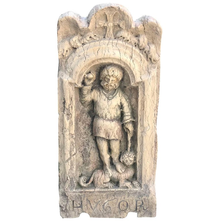 18th Century Baroque Istrian Church Wall Relief For Sale