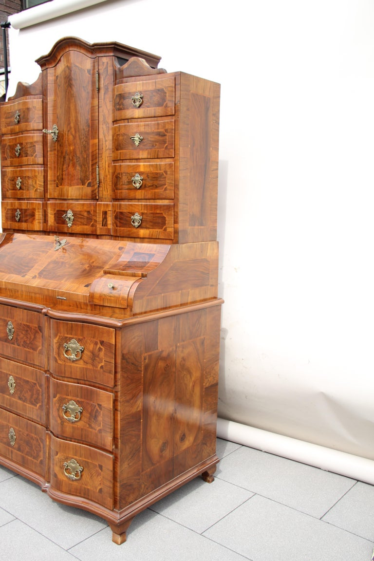 18th Century Baroque Secrétaire, Austria, circa 1770 For Sale 7