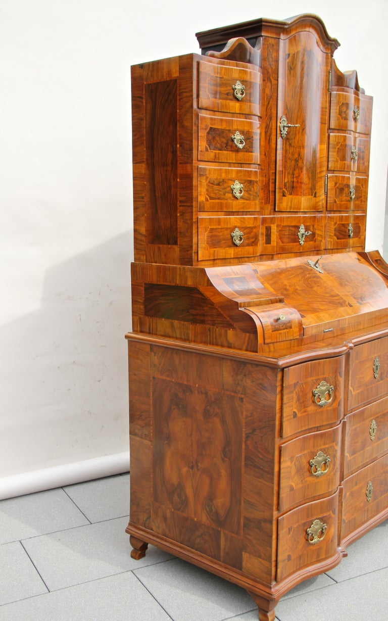 18th Century Baroque Secrétaire, Austria, circa 1770 For Sale 9