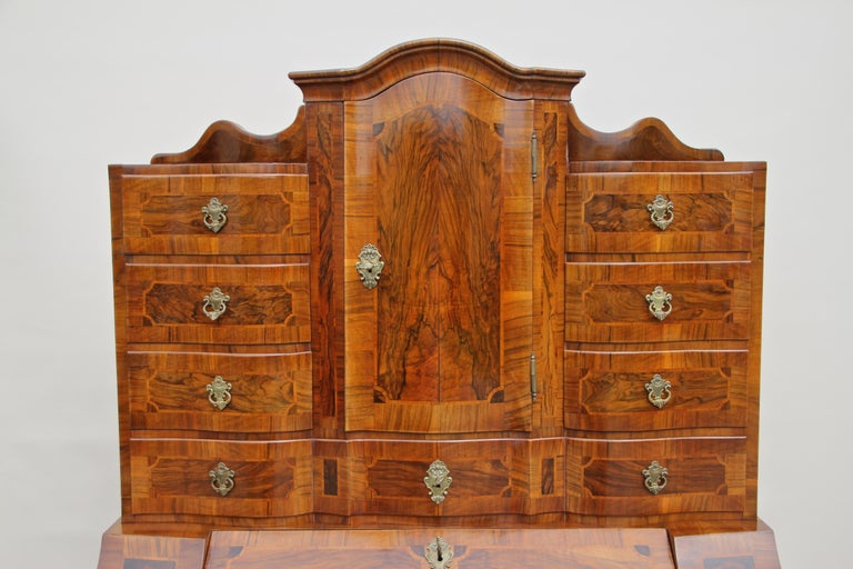 Austrian 18th Century Baroque Secrétaire, Austria, circa 1770 For Sale
