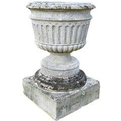 18th Century Bath Stone Urn