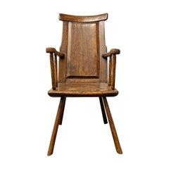 18th Century Belgian Vernacular Armchair