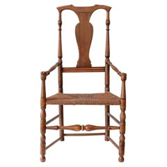 18th Century Birch Armchair