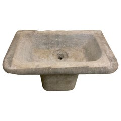 18th Century Bluestone Farmhouse Sink from Belgium