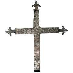 18th Century Bolivian Silver Cross
