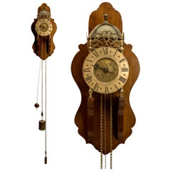 18th Century British Lantern or Chamber Clock