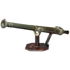Late 18th century Lantaka bronze cannon barrel