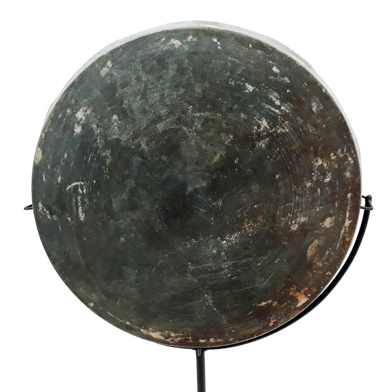 Mid-18th Century 18th Century Bronze Mirror / Tray from Thailand