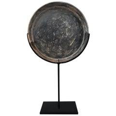 18th Century Bronze Mirror / Tray from Thailand